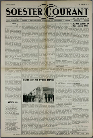 Soester Courant 1963-06-07