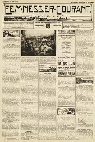 Eemnesser Courant 1924-05-27