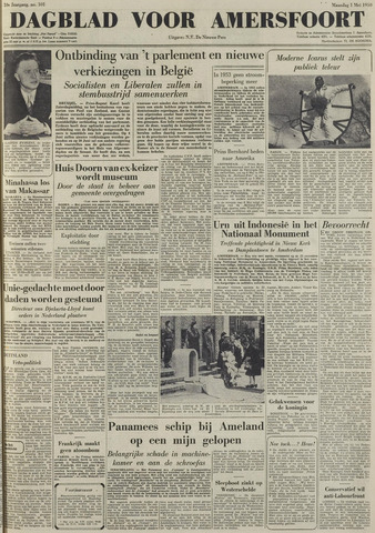 Dagblad voor Amersfoort 1950-05-01