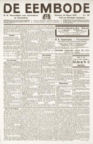 De Eembode 1925-03-10