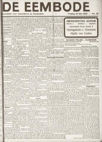 De Eembode 1922-05-12