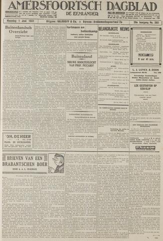 Amersfoortsch Dagblad / De Eemlander 1931-06-01
