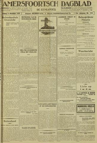 Amersfoortsch Dagblad / De Eemlander 1932-11-11