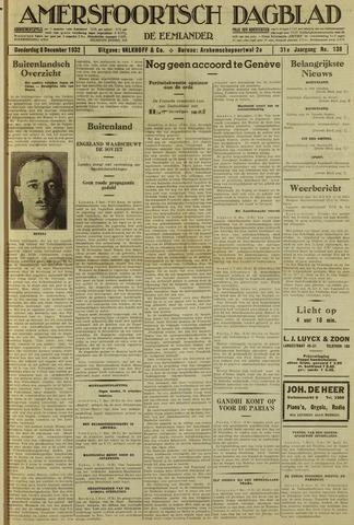 Amersfoortsch Dagblad / De Eemlander 1932-12-08