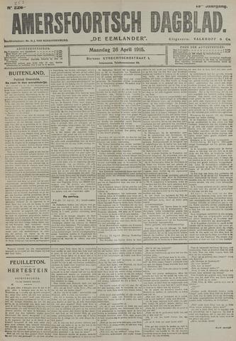 Amersfoortsch Dagblad / De Eemlander 1915-04-26