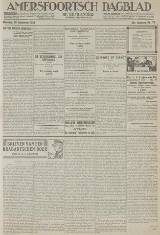 Amersfoortsch Dagblad / De Eemlander 1929-09-30