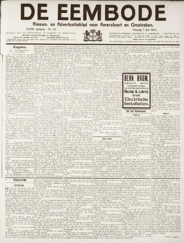 De Eembode 1914-07-07