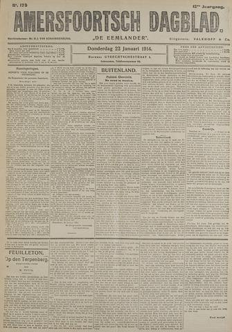 Amersfoortsch Dagblad / De Eemlander 1914-01-22
