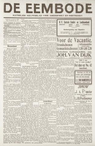 De Eembode 1921-07-22