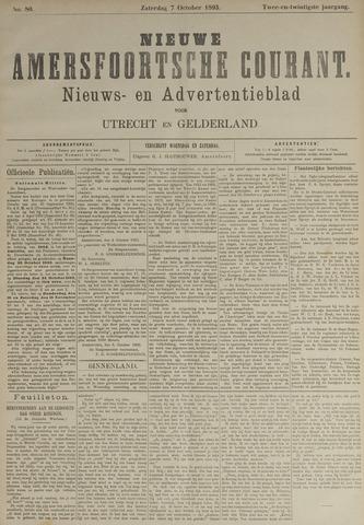 Nieuwe Amersfoortsche Courant 1893-10-07