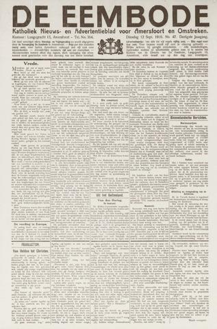 De Eembode 1916-09-12
