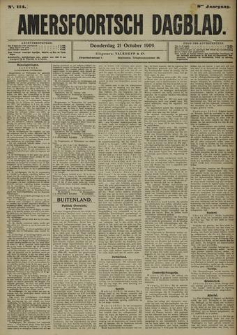 Amersfoortsch Dagblad 1909-10-21