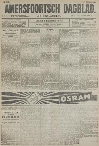 Amersfoortsch Dagblad / De Eemlander 1916-09-08