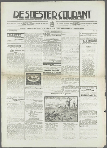 Soester Courant 1938-08-05