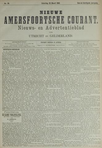 Nieuwe Amersfoortsche Courant 1892-03-26