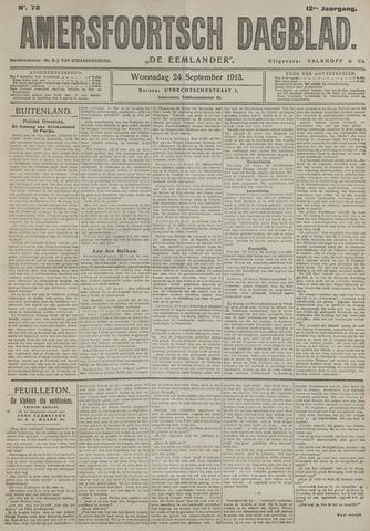 Amersfoortsch Dagblad / De Eemlander 1913-09-24