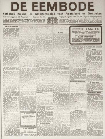 De Eembode 1915-08-27