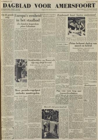 Dagblad voor Amersfoort 1950-06-20