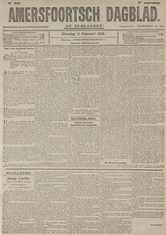 Amersfoortsch Dagblad / De Eemlander 1913-02-11