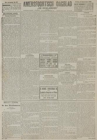 Amersfoortsch Dagblad / De Eemlander 1922-09-08