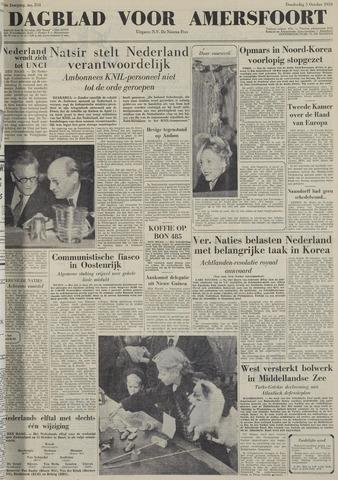 Dagblad voor Amersfoort 1950-10-05