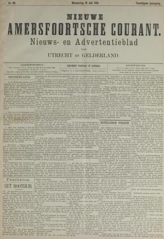 Nieuwe Amersfoortsche Courant 1891-07-15