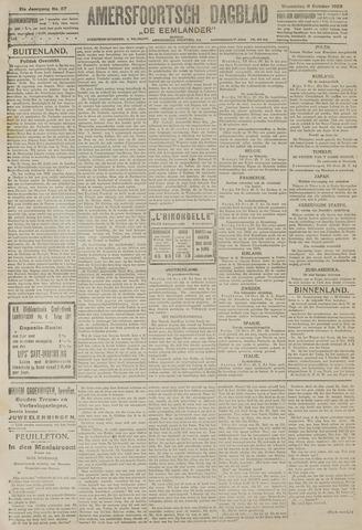 Amersfoortsch Dagblad / De Eemlander 1922-10-11