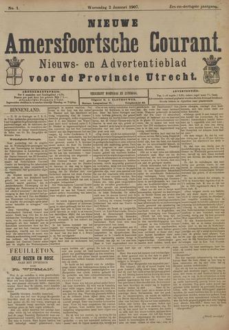 Nieuwe Amersfoortsche Courant 1907-01-02