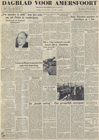Dagblad voor Amersfoort 1947-11-04