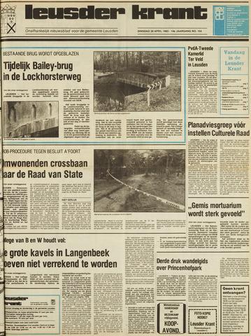 Leusder Krant 1983-04-26