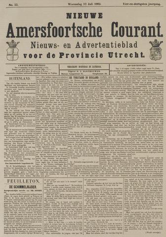 Nieuwe Amersfoortsche Courant 1905-07-12