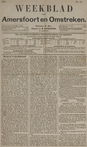 Weekblad voor Amersfoort en Omstreken 1873-05-24