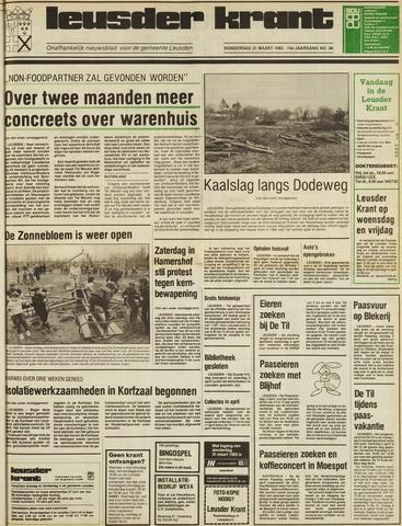 Leusder Krant 1983-03-31