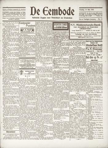 De Eembode 1932-05-10