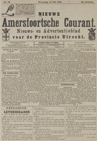 Nieuwe Amersfoortsche Courant 1916-07-12