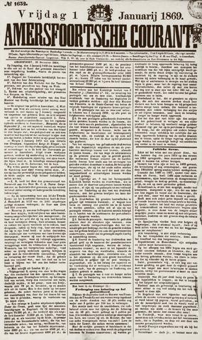 Amersfoortsche Courant 1869