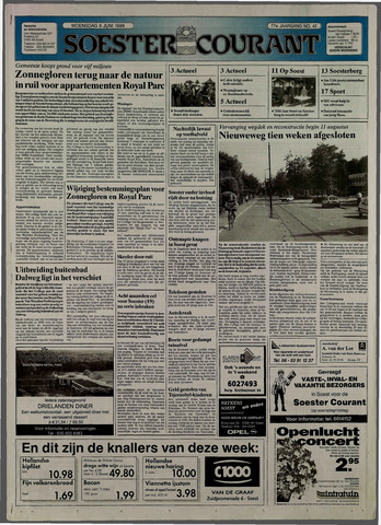 Soester Courant 1999-06-09