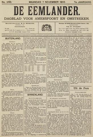 De Eemlander 1910-11-07