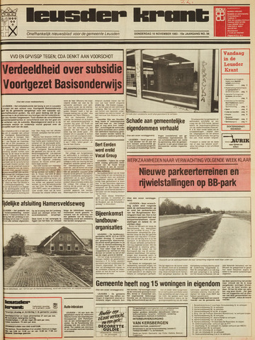 Leusder Krant 1983-11-10