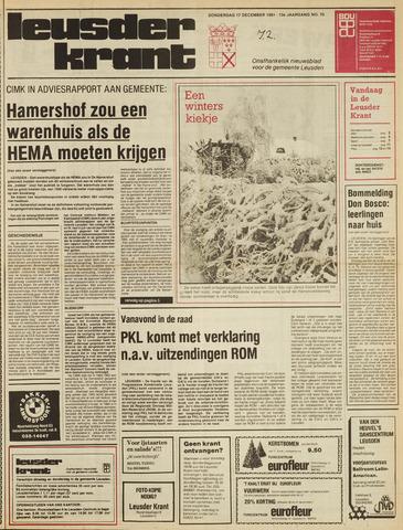 Leusder Krant 1981-12-17