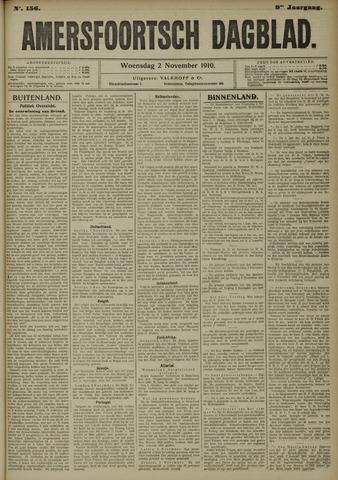 Amersfoortsch Dagblad 1910-11-02