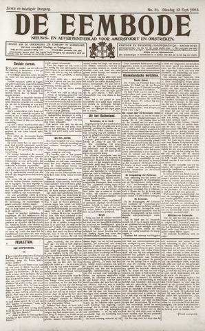 De Eembode 1913-09-23