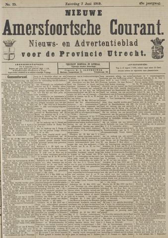 Nieuwe Amersfoortsche Courant 1919-06-07