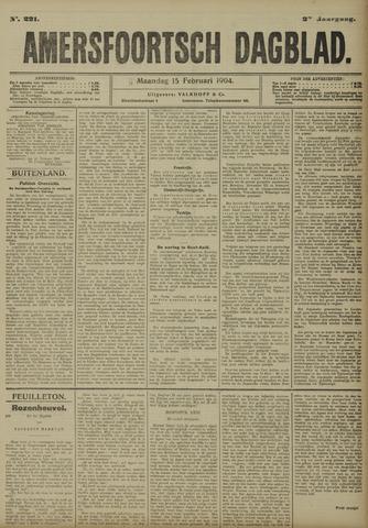 Amersfoortsch Dagblad 1904-02-15