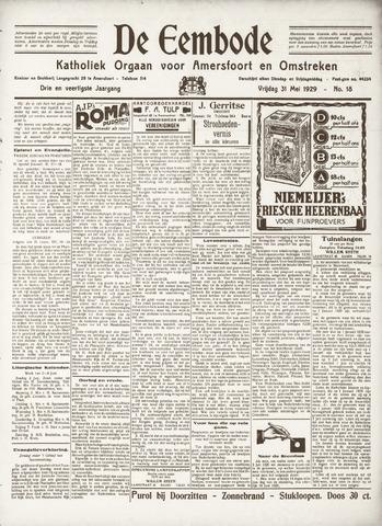 De Eembode 1929-05-31