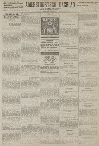 Amersfoortsch Dagblad / De Eemlander 1926-09-11