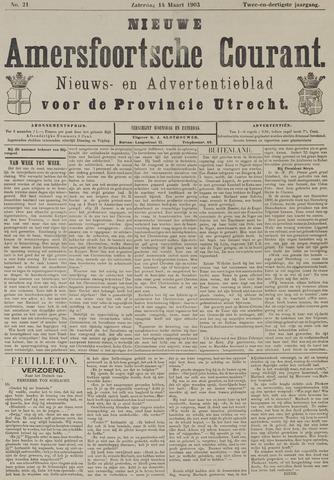 Nieuwe Amersfoortsche Courant 1903-03-14