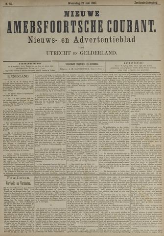 Nieuwe Amersfoortsche Courant 1887-06-22
