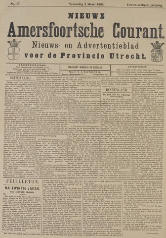 Nieuwe Amersfoortsche Courant 1905-03-01