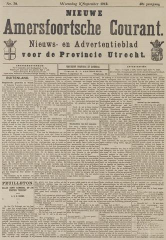 Nieuwe Amersfoortsche Courant 1913-09-03